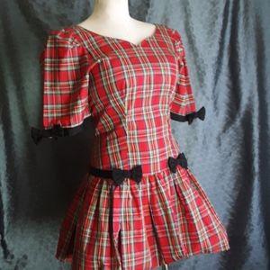 Misty Lane Plaid Schoolgirl Uniform